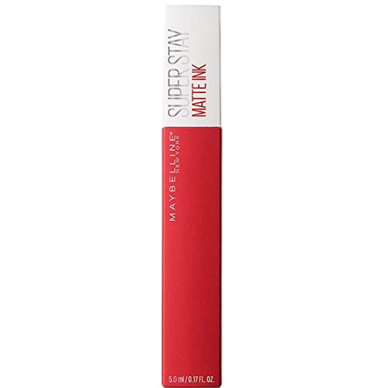 不調和カセット直面する[Maybelline ] メイベリンSuperstayマットインク液20パイオニア - Maybelline Superstay Matte Ink Liquid 20 Pioneer [並行輸入品]