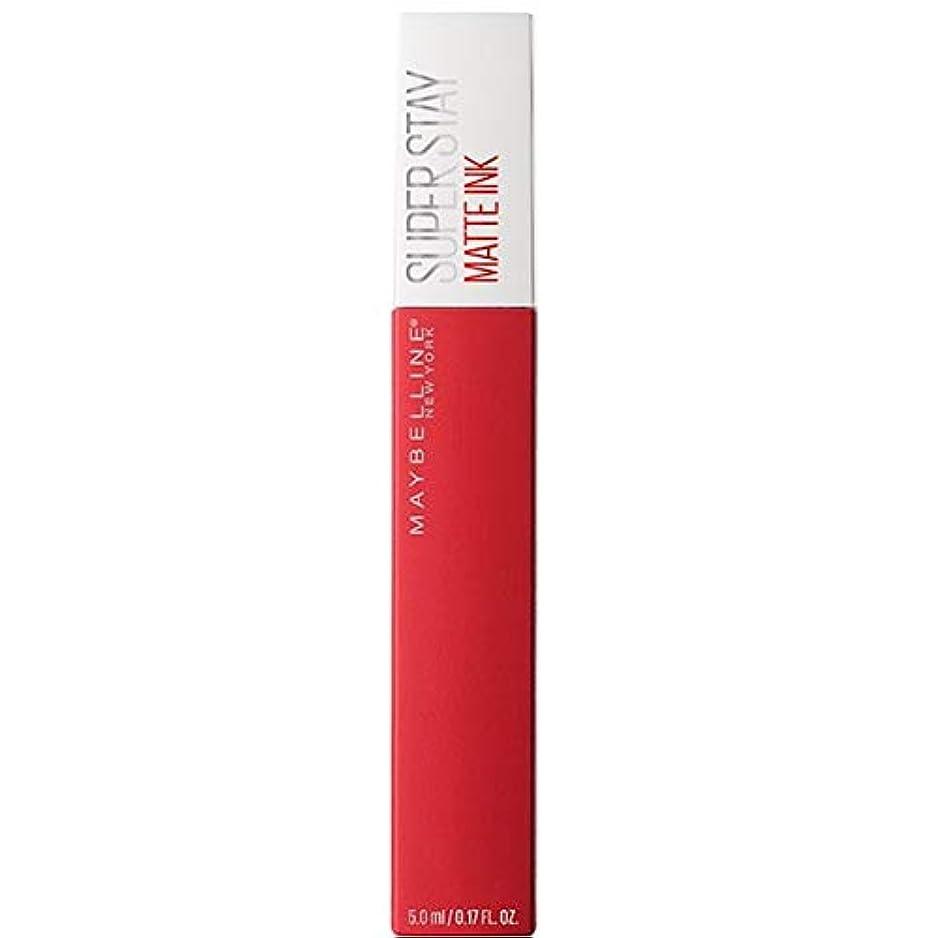 こっそり警官特殊[Maybelline ] メイベリンSuperstayマットインク液20パイオニア - Maybelline Superstay Matte Ink Liquid 20 Pioneer [並行輸入品]