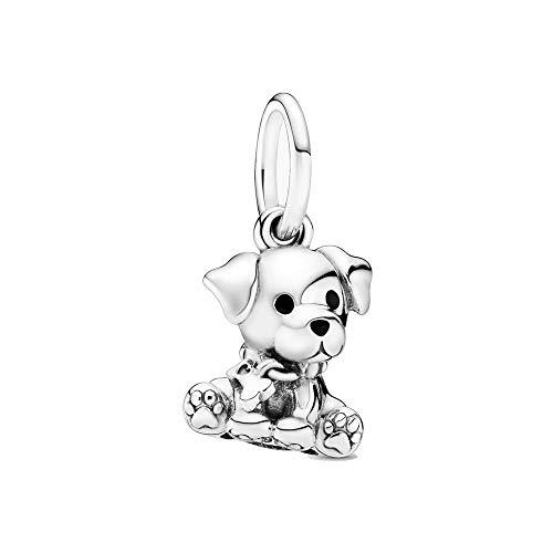 Labrador Welpe Anhänger Sterling-Silber 925