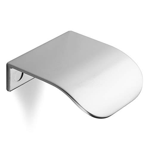 SCHÜCO ALU COMPETENCE Möbelgriff Ole Schubladengriff Chrom matt BA 32 mm Design trifft auf Funktion