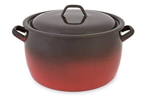 Menax - Olla de Cocina con Tapa - Modelo Fuego - Acero...
