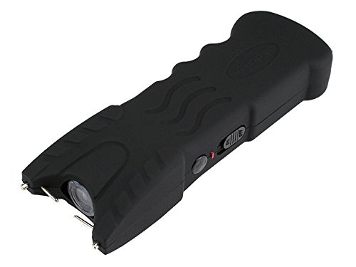 VIPERTEK VTS-979 - 59 Billion Stun Gun - Rechargeable with Safety Disable Pin LED Flashlight, Black