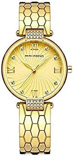mini focus golden watch woman