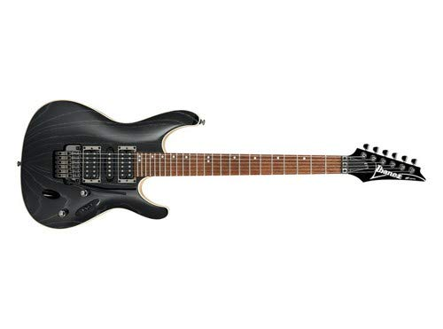 Cheap Ibanez S570AH - Silver Wave Black Black Friday & Cyber Monday 2019