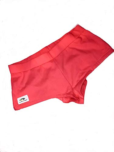 A Nu Trend EMF Shielding Women's Boxer Briefs Coral - Moisture Wicking Properties for 5G