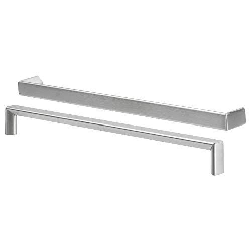 Ikea TYDA–Mango, Acero Inoxidable/, 2Unidades–330mm