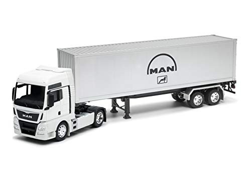 Welly Man TGX - Camión Coleccionable de Juguete (Escala 1/32º), Colo
