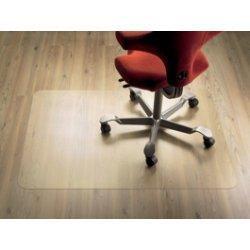 Bodenschutzmatte für Teppichboden von Clear Style | Aus transparentem Polycarbonat | 114.3 x 134.6 cm