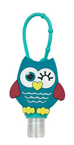 Hand Sanitizer Holder Cute Owl Hand Sanitizer Holder for Backpack, For 1 oz Bottle
