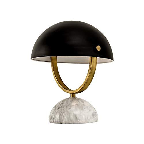 ETH lámpara de Mesa Pequeña Lámpara De Tabla Nórdica De Lujo Dormitorio Sala Sala De Estudio Creativo Moderno Simple Decoración Retro Lindo De La Lámpara De Cabecera 25 * 31cm
