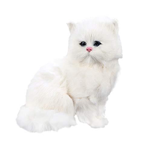 Healifty Kissen Haustiere Weich Gestopft Cartoon Katze Kitty Plüsch Stofftier Figur Figur Niedlich Reizend Cubby Plüschtiere Kleinkind Geburtstagsgeschenke