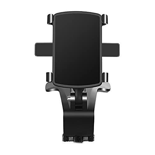 CROWNXZQ Montaje de Soporte de teléfono de 180 °, célula para Tablero de Instrumentos Airvent Airvent Estructura de Montaje magnético Compatible, Clip de rotación de Grado Fuerte multifunción