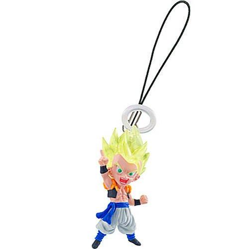 Dragonball Kai Ultimate Mascot Gogeta Super Saiyan PVC Cell Phone Charm