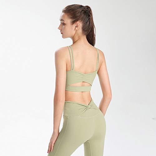 GUILAN Yoga Weste Frauen Schnelltrocknung Schönheit Back Stoßfest Anti-Sackging Laufende Sport-BH-Training Fitness Unterwäsche BH Außergewirr