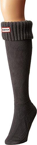 Half Cardigan Boot Sock - Dark Slate