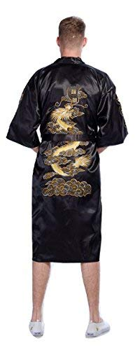 Secret Collection - Kimono, Negro, XXL
