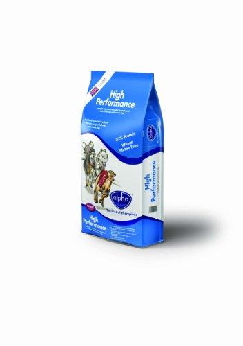Alpha Hi Performance Wheat Gluten Free Complete Dry Dog Food, 15 kg