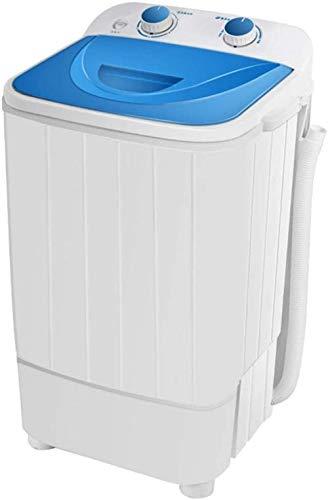 Pequeña lavadora semiautomática para zapatos domésticos, lavadora, barril único, deshidratación, adecuada para apartamentos, residencias universitarias, color negro