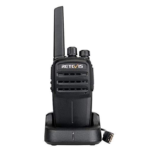 Retevis RT40 Walkie Talkie, Digitales/Analoges DMR, 48 Kanäle PMR446 Lizenzfrei, VOX SCAN CTCSS/DCS, DMR-Funk Kompatibel mit Motorobo Tier Ⅰ und Ⅱ (1Stück, Schwarz)