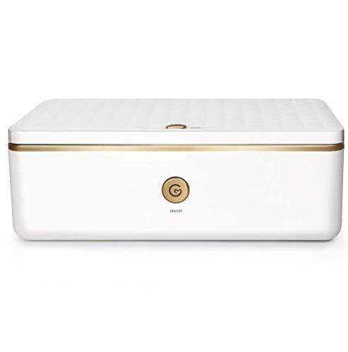 Deeabo Box Sterilizzatore Uv Box Disinfezione Automatica Ozono Box Uv Professionale Sterilizzatore Uv Multifunzione per Telefono Gioielli Occhiali Maschera Rimosso 99 99% Batteri