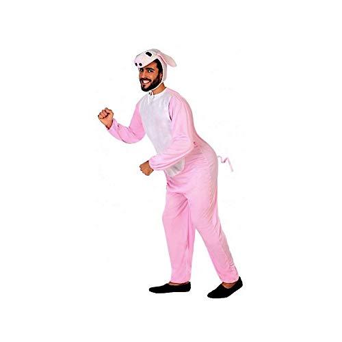 Atosa-73913 Disfraz Cerdo, color rosa, M-L (73913)