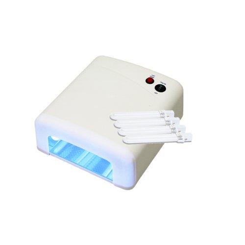 UV Lichthärtungsgerät weiß inkl. 4 Röhren