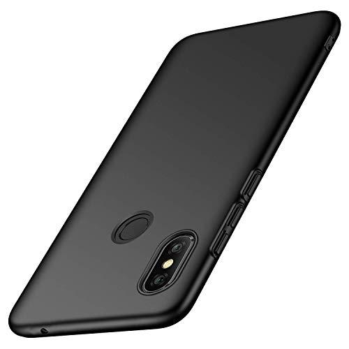 Toppix für Xiaomi Mi Mix 3 Hülle, Handyhülle PC Plastik (Slider lässt Sich herunterschieben) Hart Cover Slim Matt dünn-schlank-Leichte Schutzhülle für Xiaomi Mi Mix 3 (Schwarz)