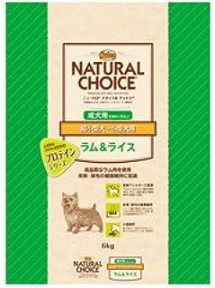 ナチュラルチョイス ラム&玄米 超小型小型成犬用 6kg