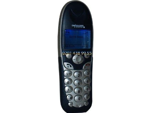 Swisscom Classic A413 Schnurlos analog Telefon AB Headset Sim-Kartenleser NEU