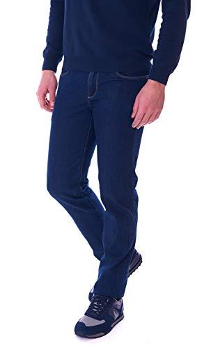 Trussardi Jeans Jeans Uomo 370 Close Leggero Blu 52J00000-1T00607-C001 - Blu, 31/45