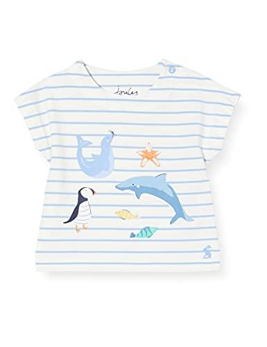 Joules Pixie Camiseta, Sea Animal Stripe, 12-18m para Bebés