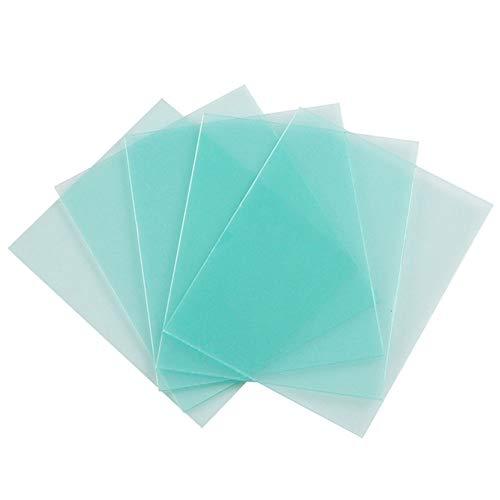 10 filtros de protección para máscara de soldadura, peso