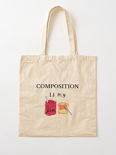 Générique Zusammensetzung Electronic Student Music Composer Art Teacher   Einkaufstaschen aus Segeltuch mit Griffen, Einkaufstaschen aus nachhaltiger Baumwolle