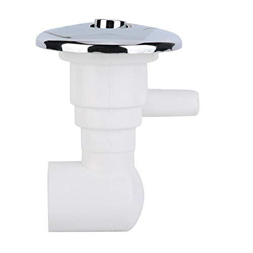 Eastbuy Whirlpool-Teile - Whirlpool-Luftdüsen Blasensprühgerät Badewanne Wassersprühzubehör (Weiß)