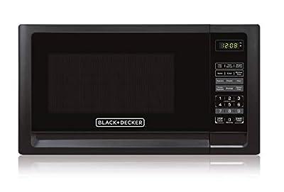 Black+Decker EM925AFO-P2 0.9 Cu. Ft. Digital Microwave