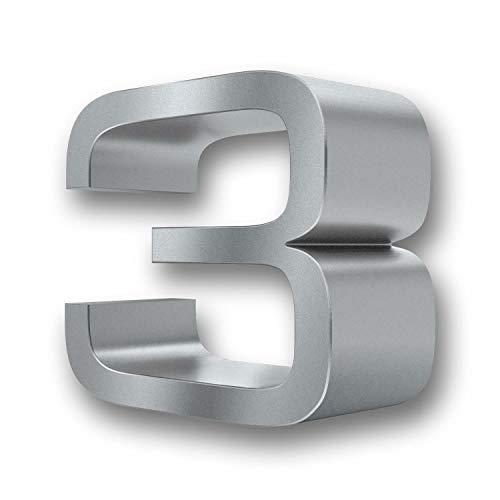 Massive 3D-Design Hausnummer 0 (3)