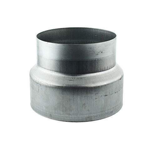 MKK - 18112-006 - Reduzierstück Reduktion Aluflex Rohr Flexrohr Lüftung Wickelfalzrohr Verzinkt 150-125