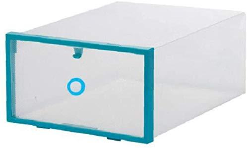 Ranuras de zapato ajustables Organizador Bastidore 1 unid zapatos de plástico zapatos de caja de almacenamiento organizador apilable espacio de cajón de ahorro de espacio para zapatos Rack de soporte