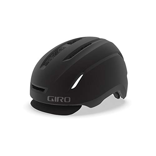 Giro Unisex– Erwachsene Caden LED Fahrradhelm Urban, Matte Black, M | 55-59cm