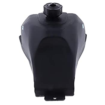 Kesoto Black& Plastic Gas Petrol Fuel Tank -2 Stroke 47cc 49cc -4 Wheeler Mini Moto Quad Dirt Bike ATV