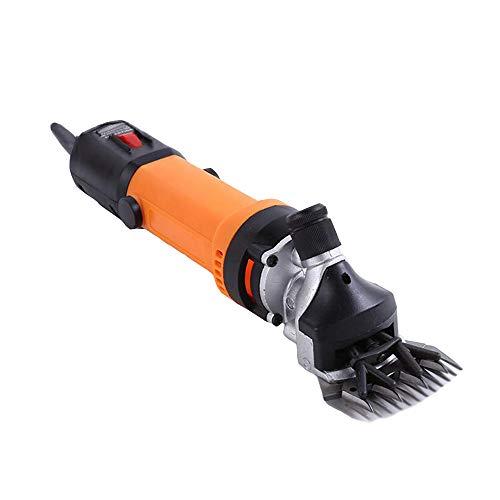 Caballos Esquiladora eléctrica Profesional,Maquina de Esquilar para Ovejas,6 velocidade ajustable Trasquiladora para...