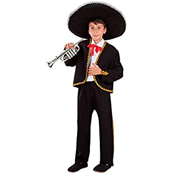 DISBACANAL Disfraz de Mariachi Mexicano niño - -, 12 años: Amazon ...