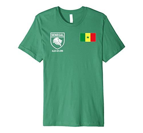 Senegal Futbol Soccer Jersey Shirt