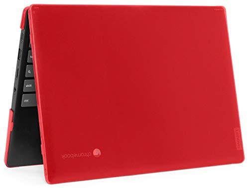 mCover LEN-IP3-C11 - Carcasa rígida para Lenovo IdeaPad Chromebook 3 (11) (11) de 11,6' (no compatible con Lenovo 300E Windows & N21 / N22 / N23 / 300E / 500E / Flex 11 Chrome), color rojo