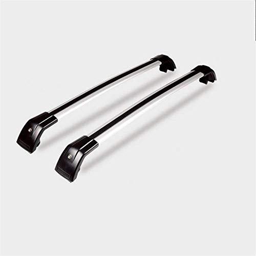 YIJIAREN Aleación De Aluminio Universales Barras Laterales Rieles Cruzados para Mitsubishi ASX Outlander, Rack De Techo Portaequipajes Rack