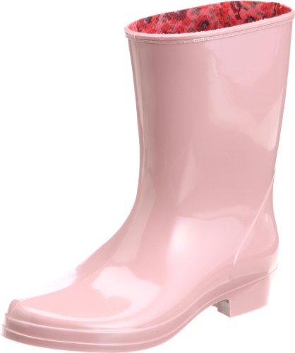 [アキレス] レインブーツ 長靴 作業靴 レインシューズ 日本製 E レディース HLB 3100 ローズ 23