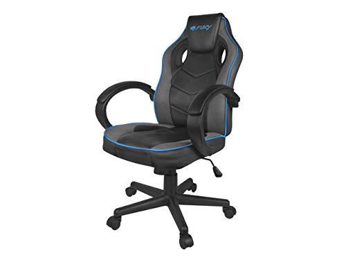 Fury Avenger S Ergonomischer Gaming-Stuhl mit Armlehnen, höhenverstellbar, Nylon, S