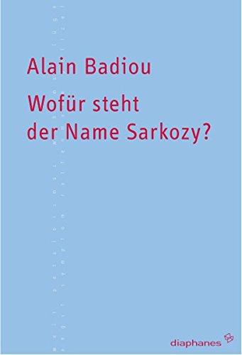 Wofür steht der Name Sarkozy? (Kleine Reihe)