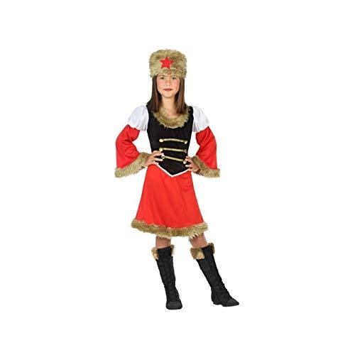ATOSA disfraz rusa niña infantil 7 a 9 años