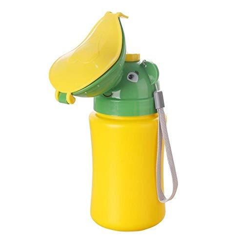 Gute Qualität Portátil Conveniente Viajes Lindo bebé Urinal Niños Potty Girl Boy Coche Aseo Pottines Vehicular Urinal Viajar Orinión para niño y niña (Color : Girls)